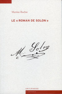 Couverture Solon